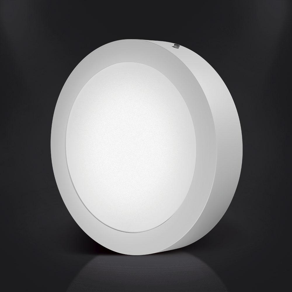 Luminária LED Redonda de Sobrepor Spotlux