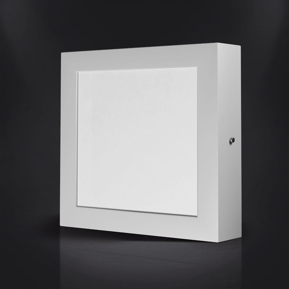 Luminária LED Quadrada de Sobrepor Spotlux