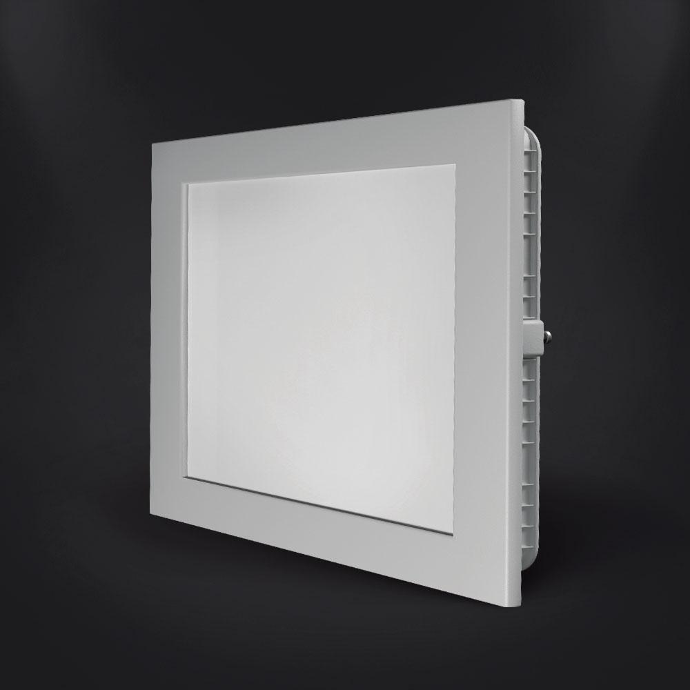 Luminária LED Quadrada de Embutir Spotlux