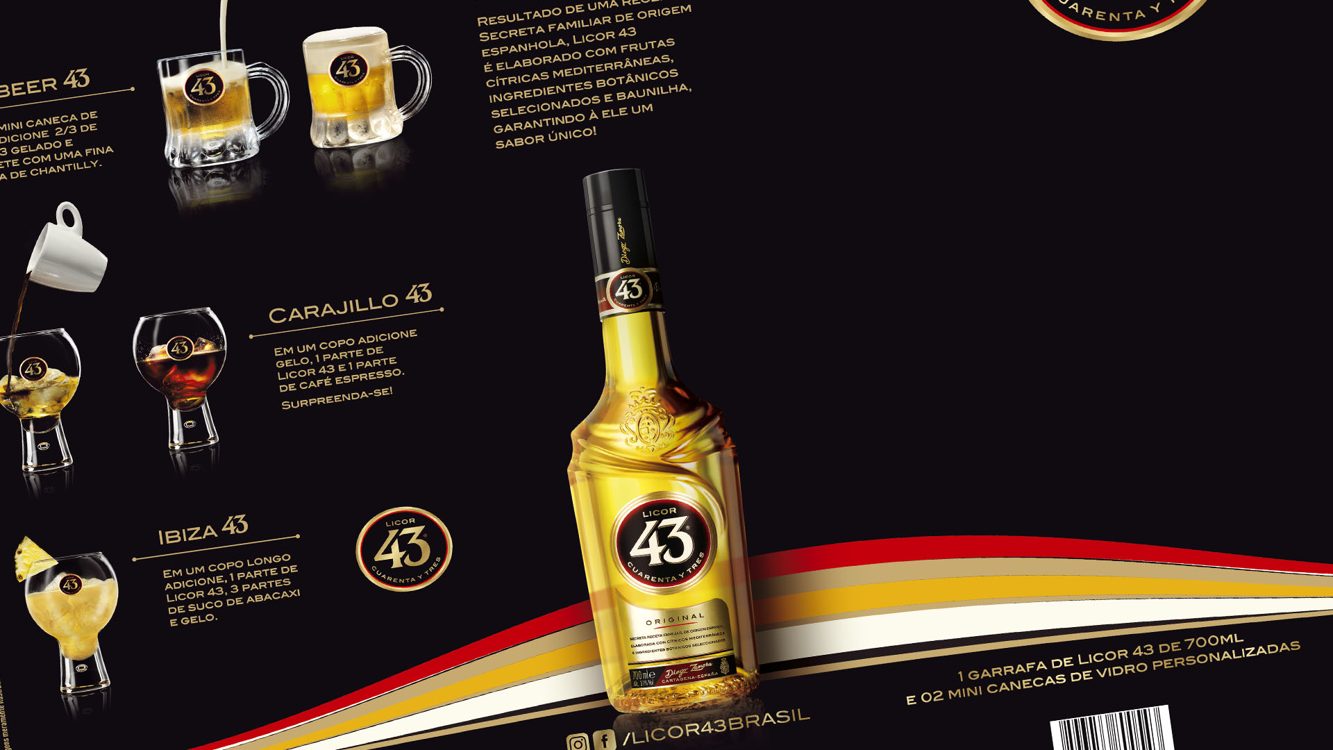 PromoPack Licor 43